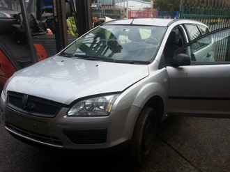 Ford Focus submitted for scrapping and breaking