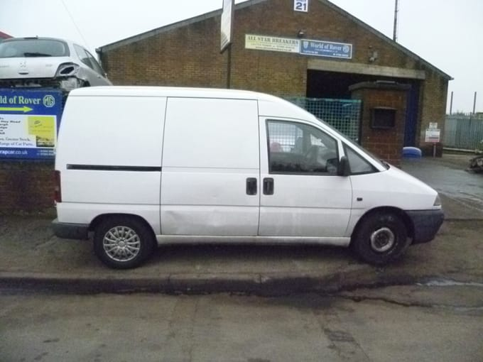 scrap citroen dispatch