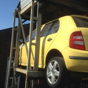 skoda-fabia scrap and used parts from Bolton