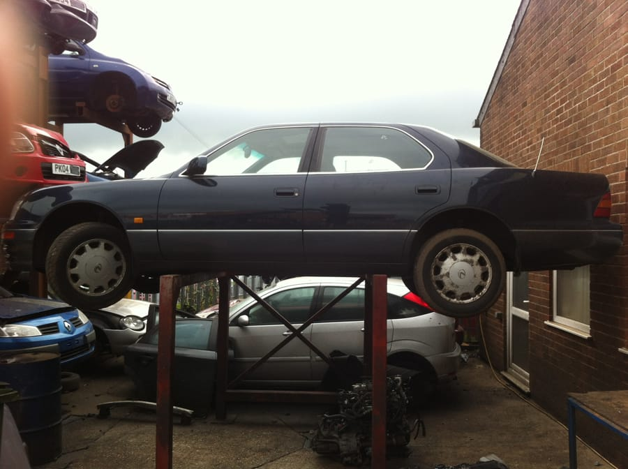 Lexus ls 400 breaking for parts