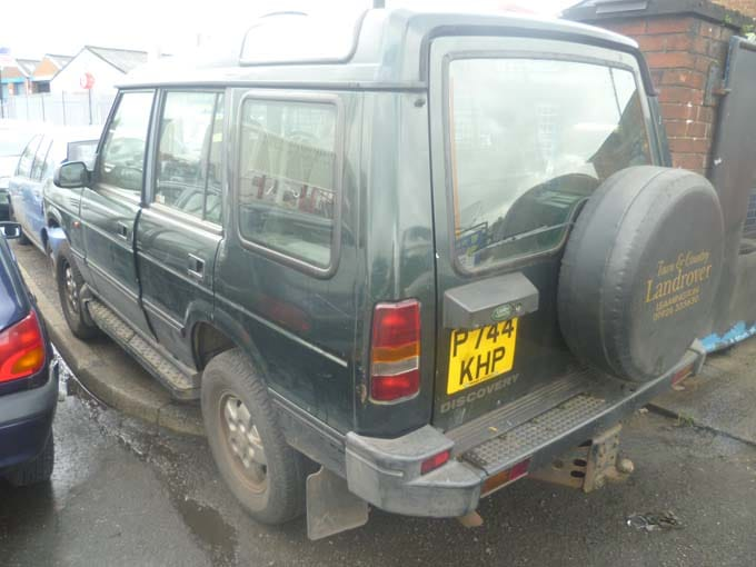 land rover for scrapping and breaking