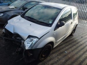Citroen C2 submitted to us for breaking