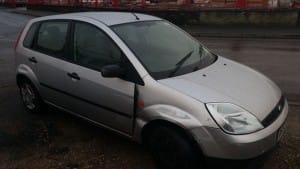fiesta-front-bumper - car breaking