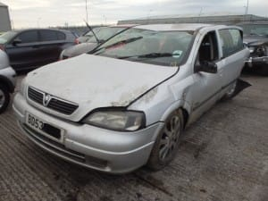 Vauxhall Astra Side