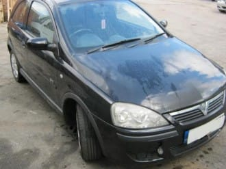 scrap car 2005 Vauxhall Corsa C Submitted for breaking