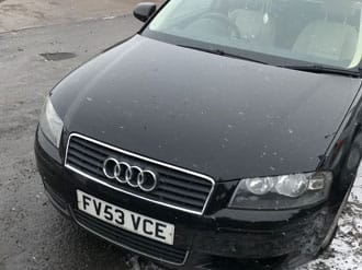 Audi submitted for scrapping
