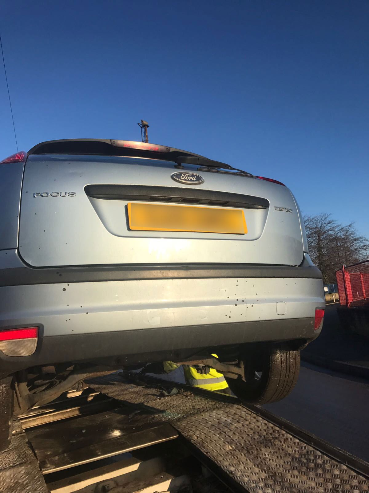 Ford Focus recovery
