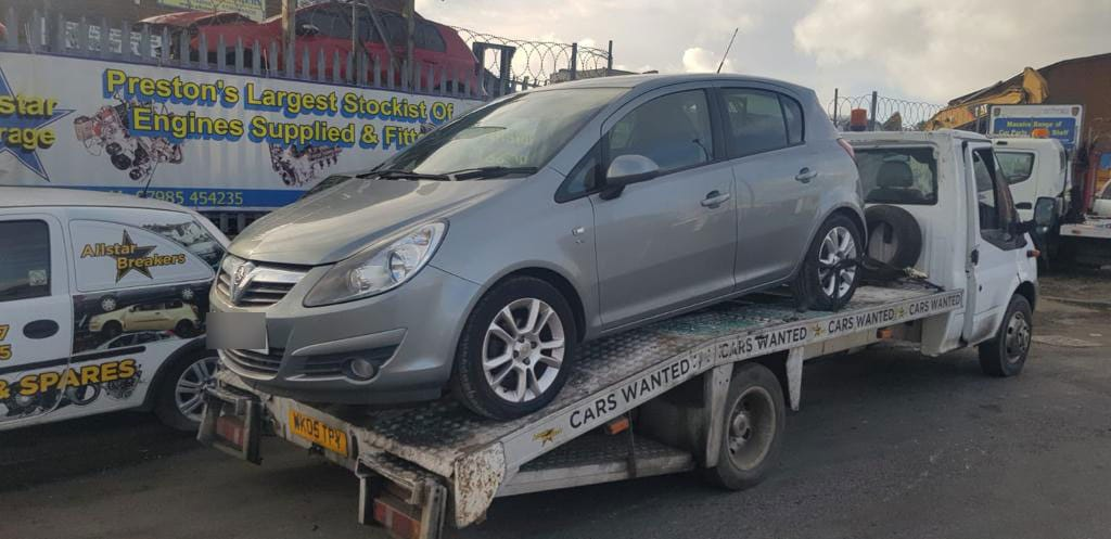 Vauxhall scrap delivery