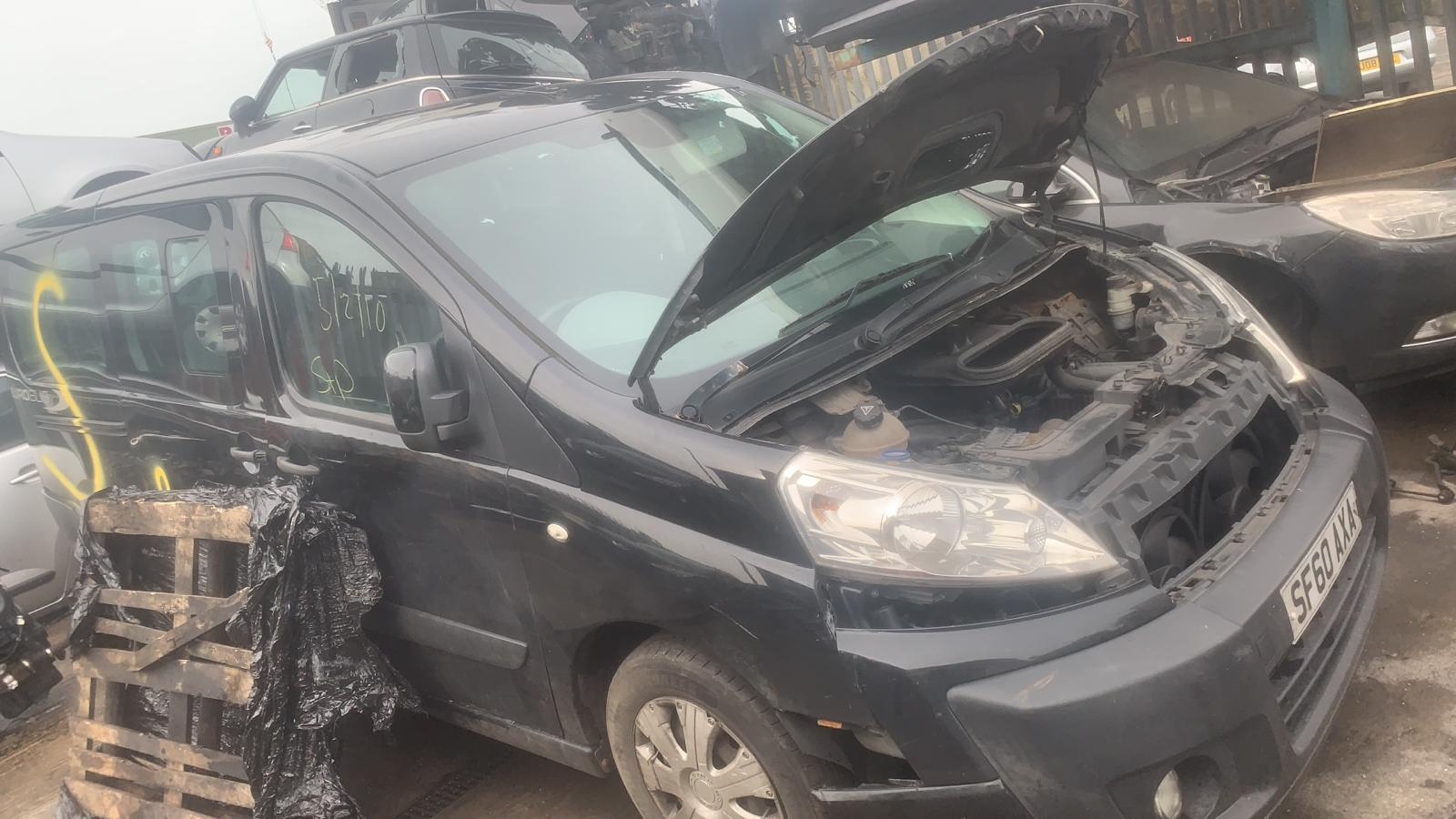 People carrier van scrap car