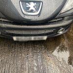 Black Peugeot scrap October 2020